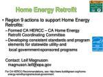 home energy retrofit