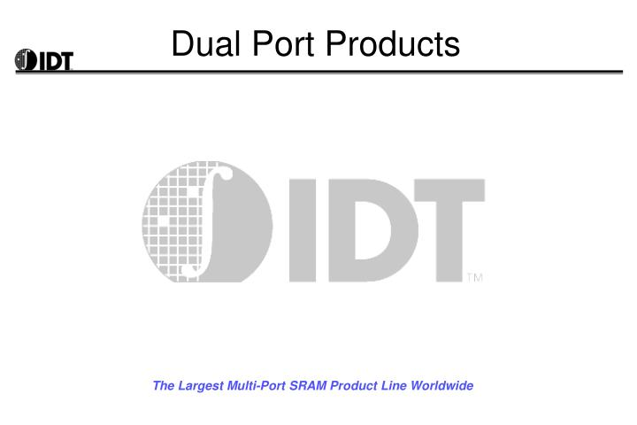 dual port products n.