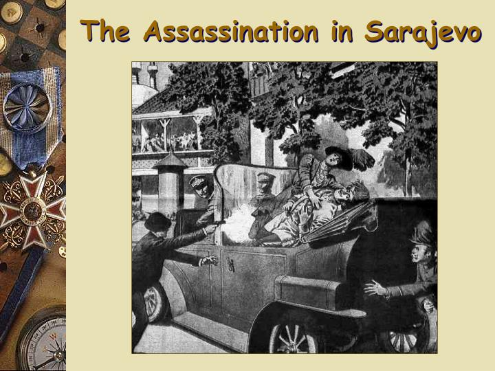 The Assassination in Sarajevo