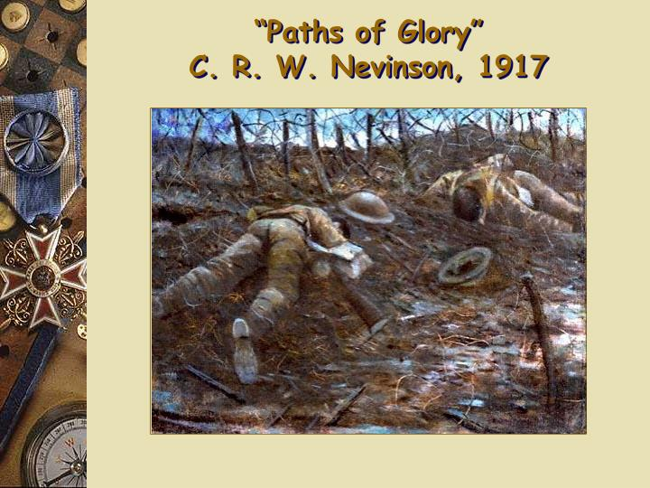 """Paths of Glory"""