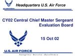 cy02 central chief master sergeant evaluation board
