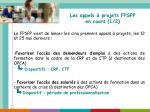 les appels projets fpspp en cours 1 2