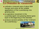 les domaines de vinsmoselle