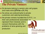 the private vintners