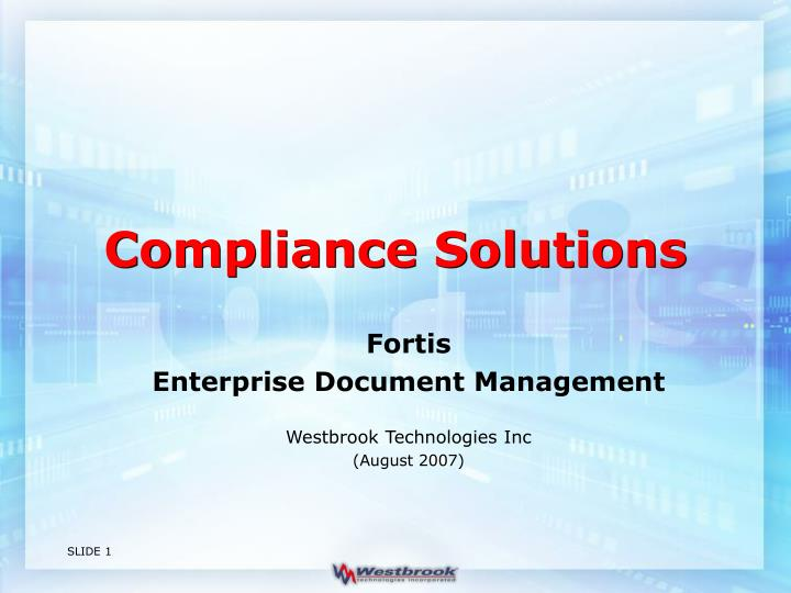 compliance solutions n.