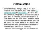 l islamisation