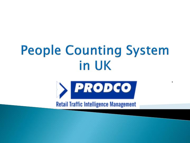 people counting system in uk n.