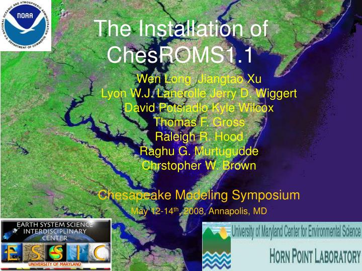 the installation of chesroms1 1 n.