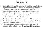 art 3 et 12