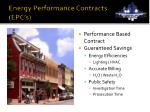 energy performance contracts epc s