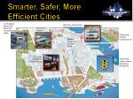 smarter safer more efficient cities