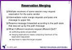 reservation merging