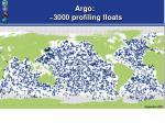argo 3000 profiling floats