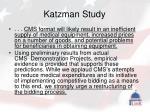 katzman study