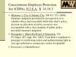 conscientious employee protection act cepa n j s a 34 19 32