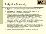 litigation immunity3
