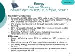 energy fuels and efficiency c 85 102 c 77 109 c 85 101 c 76 162 c 79 117