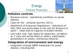energy pollution prevention