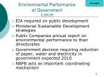 environmental performance of government c 96 39