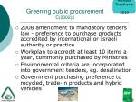 greening public procurement c 2002 3