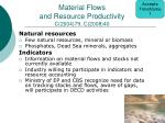 material flows and resource productivity c 2004 79 c 2008 40