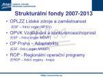 struktur ln fondy 2007 2013