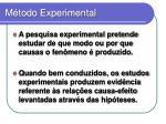 m todo experimental1