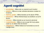 agenti cognitivi