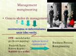 management reengineering