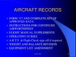 aircraft records