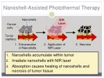 nanoshell assisted photothermal therapy