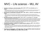 mvc life science mu av