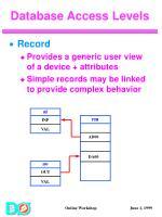 database access levels