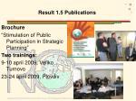result 1 5 publications1