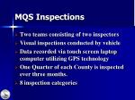 mqs inspections
