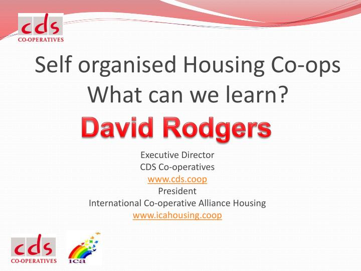 self organised housing co ops what can we learn n.