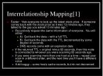 interrelationship mapping 1