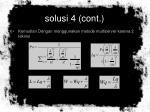 solusi 4 cont