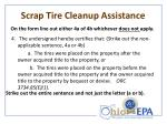 scrap tire cleanup assistance1