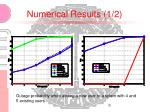 numerical results 1 2
