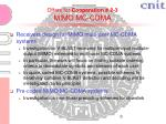 offers for cooperation 2 3 mimo mc cdma