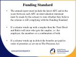 funding standard1