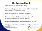 the pensions board