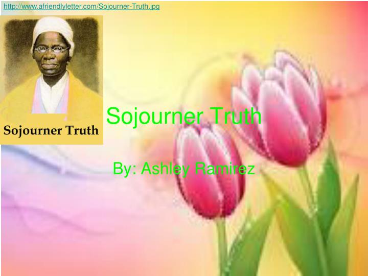 sojourner truth n.
