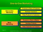 one to one marketing1