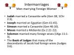 intermarriages men marrying foreign women