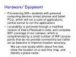 hardware equipment