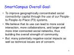 smartcampus overall goal