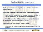 application services layer