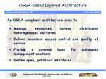 ogsa based layered architecture